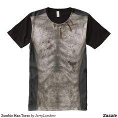 Zombie Man Torso All-Over-Print T-Shirt