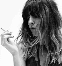 """I am not a muse .. I'm my own muse"" - Lou Doillon"