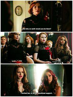 Riverdale ❤️ Season 2 Ep 15  Cheryl & Toni