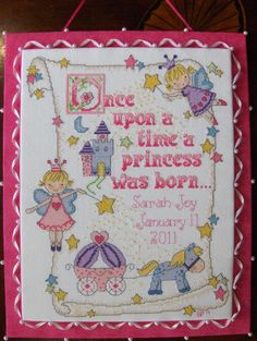 once upon a time a princess cross stitch - Google Search