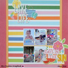 *MCS* Lake Life - Scrapbook.com  Pebbles Sunshiny Days