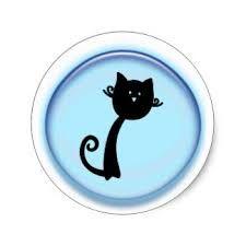 Resultado de imagen para dibujos gatos en circulos