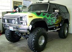 lifted ford bronco....