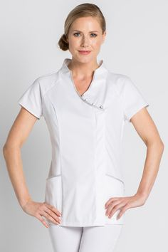 Tunique esthéticienne stretch, Oriental Look -Uniforme Esthetique