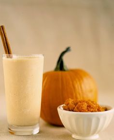 Raw Vegan Pumpkin Pie Smoothie
