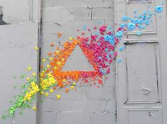 Origami on Walls