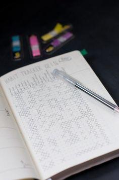 Habit Tracker: mehr Disziplin dank Bullet Journal. hamburgvoninnen.de