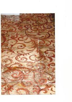 Pavimento dipinto a mano (M Sambur)