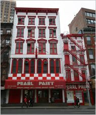 Pearl Paint.  308 Canal St  (Broadway / Mercer St), TriBeCa  New York, NY 10013.  It was on my bucket list and I did it!