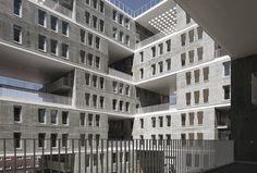 Celosia Residence by MVRDV and Blanca Lleo - social housing in Madrid