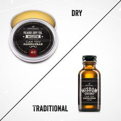 On the Blog: What is Beard Dry Oil? How is it different from Traditional Beard Oil? Come read more!