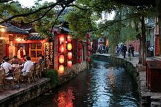 Lijiang, A Busy World Heritage Listed Tourist Town in China