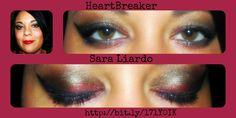 Younique Make-Up Tutorial by Sara Litardo: HeartBreaker
