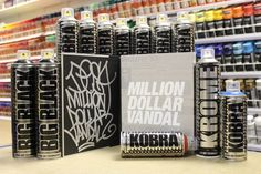Check out our Facebook page for the chance to win a signed Million Dollar Vandal book and 12 cans of Kobra! Graffiti Supplies, Art Supplies, Graffiti Art, Photo Wall, Facebook, Frame, Check, Painting, Photograph