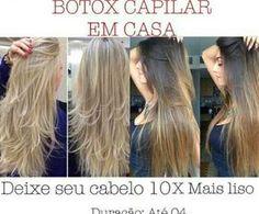 Botox Capilar em Casa- Deixe seu cabelo 10x mais liso – Duração de até 4 meses