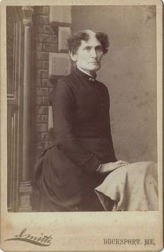 """ca. 1888, """"aunt velma, she never married"""""""