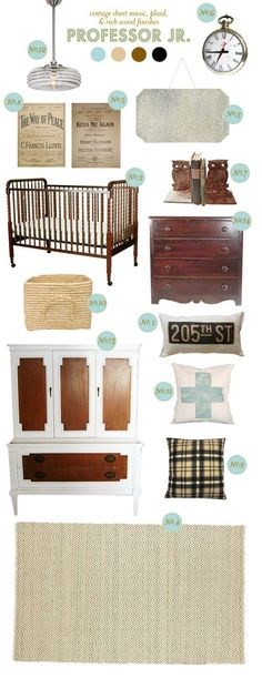 vintage nursery - that's my favorite crib...gotta love the vibe that would be in this room