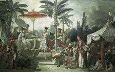 Boucher, François : Chinese Emperors Feast