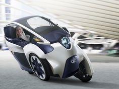 Toyota terá elétrico de três rodas em 2014 Notícias Pré-estreia