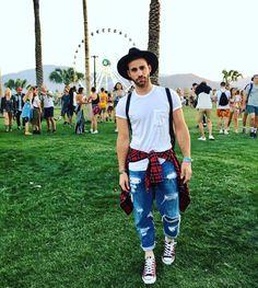 Coachella Men's Fashion Ideas 2018