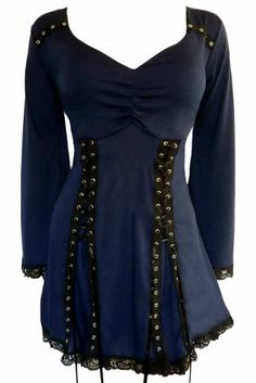 Amazon.com: Dare To Wear Gothic Victorian Women's Plus Size Electra Corset Top: Clothing
