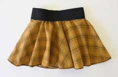 """TUTORIAL: the Circle Skirt with dyed elastic. Same process can be used for American Girl 18"""" Doll, child or adult."""