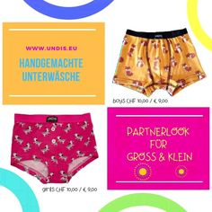 UNDIS   www.undis.eu  Die handgemachte Unterwäsche im Partnerlook für die ganze Familie. Lustige Motive und flippige Farben für Groß und Klein! #bunte #Kinderboxershorts #Lustigeboxershorts #Lustigeunterwäsche #Frauenunterwäsche #Männerboxershorts #Männerunterwäsche #Herrenboxershorts #Herrenunterwäsche #bunteboxershorts #Unterwäsche #boxershorts #undis #kinderboxershorts #Partnerlook #mensfashion #lustige #vatertagsgeschenk #geschenksidee #bunt Trunks, Gym Shorts Womens, Swimwear, Fashion, Self, Funny Underwear, Men's Boxer Briefs, Great Gifts, Colors