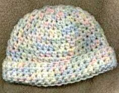 Easy Baby Crocheted Hat Pattern