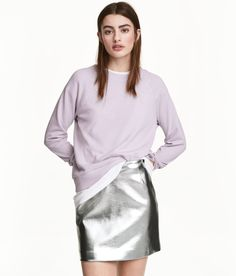 Check this out! Lightweight sweatshirt with long raglan sleeves and ribbing at neckline, cuffs, and hem. - Visit hm.com to see more.