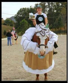 Horse and rider Halloween costume