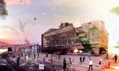 Padiglione Italia pavilion for the World Expo 2015 by Nemesi & Partners Srl, Proger SpA and BMS Progetti Srl (Milan, Italy) Grid Architecture, Architecture Visualization, Sustainable Architecture, Sustainable Design, Futuristic Architecture, Expo Milano 2015, Expo 2015, Design 3d, Mall Design