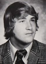 Daniel Baldwin in his 1979 yearbook at Berner high school in Massapequa, New York.