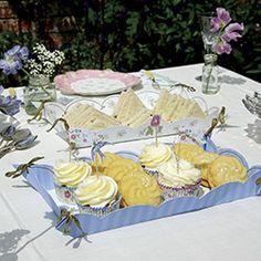 Vintage Tea Party Paper Platters