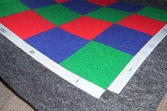 Multiplication Checkerboard - Montessori - Felt -
