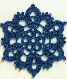 Motivi Crochet chart pattern for this and others.