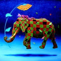 Pinto-Elephant