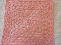 Lacy Sun afghan block by Dayna Audirsch ( free pattern)