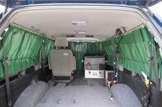 Survival camping tips Auto Camping, Minivan Camping, Truck Camping, Camping Hacks, Travel Camper, Car Camper, Camper Life, Peterbilt, Motorhome