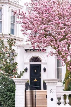 london architecture photography London in Bloom Where (and When) to See Magnolia and Cherry Blossom in London - Brogan Abroad
