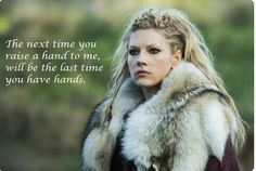 The Raid Continues! 'Vikings' Renewed For Season --- Break out those swords, shields and longboats — word is we get to raid with History's Vikings for a 20 episode-long season! - Photo: Katheryn Winnick plays Queen Lagertha in VIKINGS