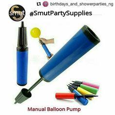 """#SmutPartySupplies  Price. #650 ・・・ Manual Balloon Pumps Available Call/WhatsApp 08088755907 #partysupplies #partyaccessories #eventsupplies #eventplanner #balloons #balloonholder #balloonstand #birthdays #balloonpump #balloonpumps #lagos #ilorin #nigeria #showerparty #bithdaygirl #birthday #showers #birthdaystore #partystore #onlineshopping #smuteventsupplies #smutevents #mobilestore"" by @smut_collectibles_ng.  #bride #weddingday #weddingdress #weddingphotography #bridal…"