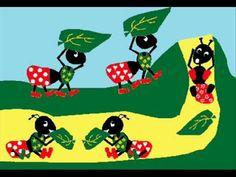 musica danza de las hormigas