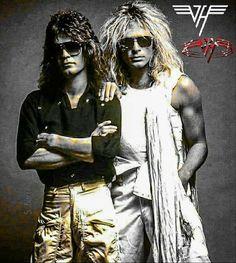 Rock Band Posters, David Lee Roth, Hes Gone, Eddie Van Halen, Famous Musicians, Skate Surf, Live Rock, Rock Legends, Metalhead