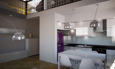 Mieszkanie 100 m2 z antresolą we Wrocławiu