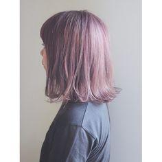 「〈2015秋・冬〉CUTE派のヘアカラーはピンクパール&ペールピンクで決まり♡」に含まれるinstagramの画像|MERY [メリー]