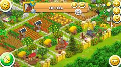 . . . . . . . .Hay Day Showcase: A lovely farm I saw today