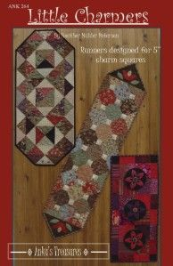 Little Charmers, Book Quilt, Charm Pack, Small Quilts, Table Runners, Pattern Design, Scrap, Charmed, Traditional