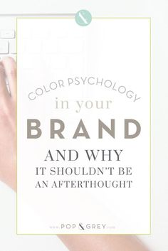 Color psychology in your brand and why it shouldn't be an afterthought Business Tips For Karen Gilbert and Female Entrepreneurs Branding Your Business, Creative Business, Business Tips, Corporate Branding, Bakery Branding, Business Logos, Business Events, Corporate Design, Logo Branding