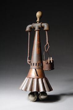"""Domestic Goddess"" by Kim Schoenberger; won Best Sculpture Award at the 2013 Immanuel Arts Festival in Sunshine Coast, Queensland, Australia"