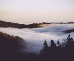 avobe the clouds   via Tumblr